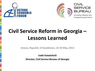 Civil Service Reform in Georgia – Lessons Learned