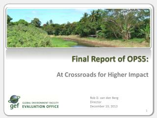 At Crossroads for Higher Impact
