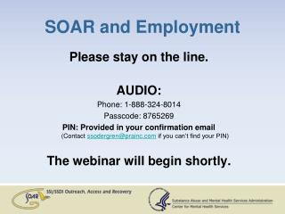 SOAR and Employment