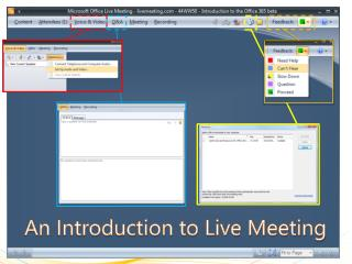An Introduction to Live Meeting