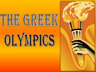 The Greek Olympics