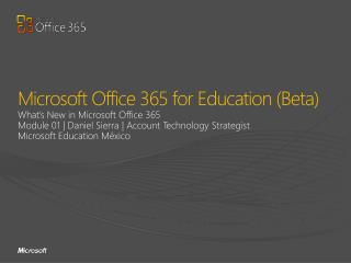 Microsoft Office 365 for Education (Beta)