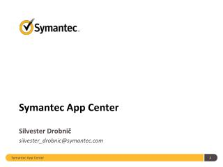 Symantec App Center