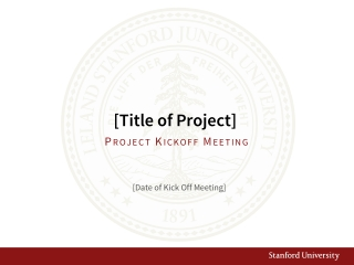[Title of Project]