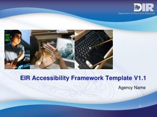 EIR Accessibility Framework Template V1.1