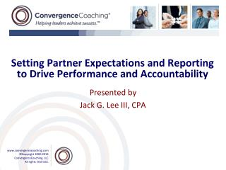 Setting Partner Expectations and Reporting to Drive Performance and Accountability