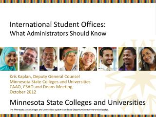 International Student Offices:  What Administrators Should Know