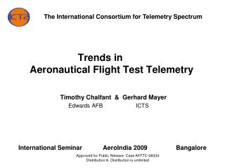 Trends in 	 Aeronautical Flight Test Telemetry