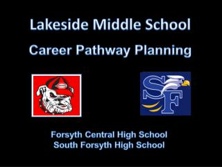 Lakeside Middle  School Career Pathway Planning