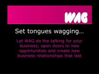 Set tongues wagging…