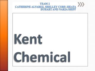 kent chemicals