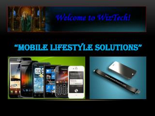 """Mobile Lifestyle Solutions"""