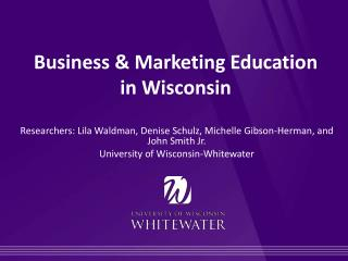 Business  & Marketing Education  in  Wisconsin