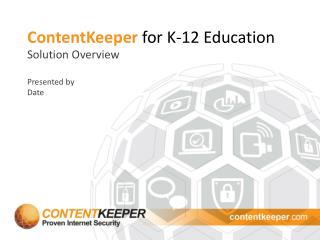 ContentKeeper for K-12 Education