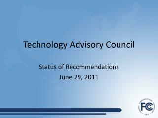 Technology Advisory Council