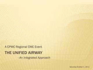 The unified Airway
