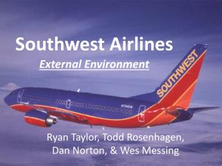 southwest airlines internal and external environmental analysis External environment of southwest airlines essays and external analysis of southwest airlines - customwritingtipscom southwest airlines internal analysis.