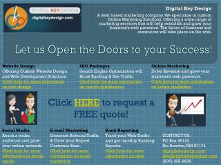 Let us Open the Doors to your Success!