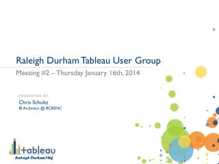 Raleigh Durham Tableau User Group