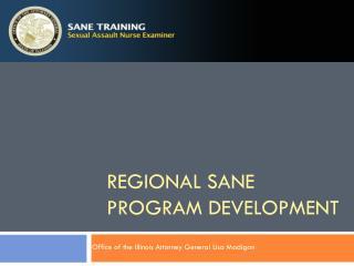 REGIONAL SANE PROGRAM DEVELOPMENT