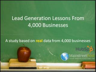 Real Data from real HubSpot Businesses