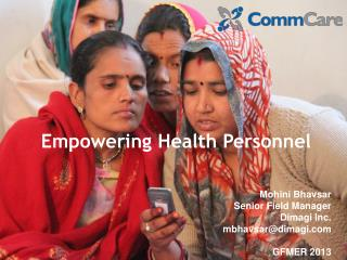 Empowering Health Personnel
