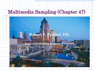 Multimedia Sampling (Chapter 47)