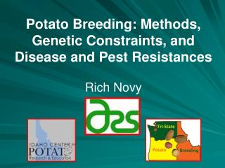 Potato Breeding: Methods, Genetic Constraints, and Disease and Pest Resistances