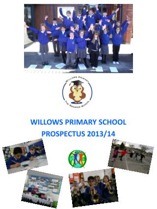 WILLOWS PRIMARY SCHOOL  PROSPECTUS 2013/14