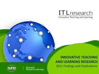 INNOVATIVE TEACHING  AND LEARNING RESEARCH