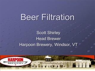 Beer Filtration