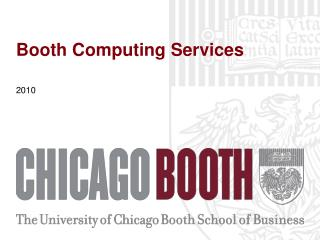 Booth Computing Services
