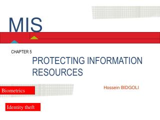 PROTECTING INFORMATION RESOURCES