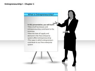 Entrepreneurship I - Chapter 1