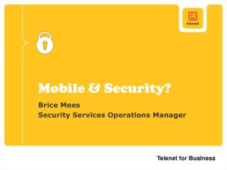 Mobile & Security?