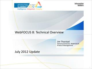 WebFOCUS 8: Technical Overview