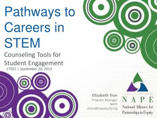 Pathways to Careers in  STEM