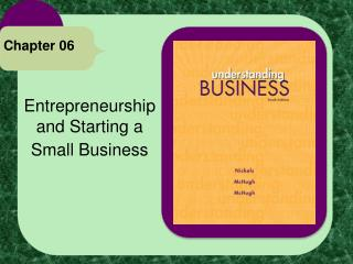 Entrepreneurship and Starting a  Small Business