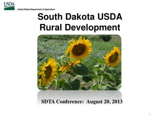 South Dakota USDA  Rural  Development