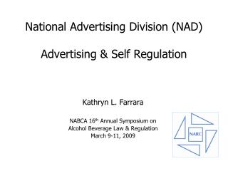 National Advertising Division (NAD) Advertising & Self Regulation