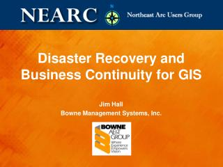 Disaster Recovery and Business Continuity for GIS