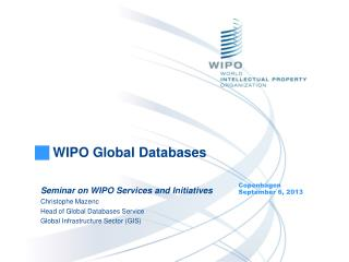 WIPO Global Databases