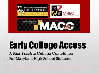 Early College Access