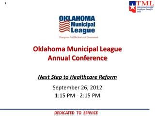 Oklahoma Municipal League  Annual Conference