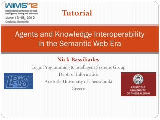 Agents and Knowledge Interoperability  in  the Semantic Web  Era