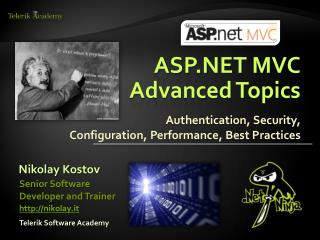 ASP.NET  MVC Advanced Topics