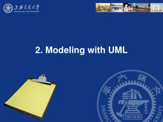 2. Modeling with UML