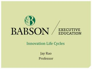 Innovation Life Cycles