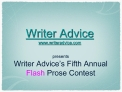 Writer Advice writeradvice