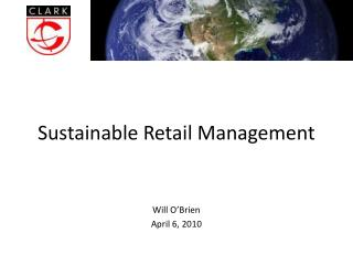 Sustainable Retail Management